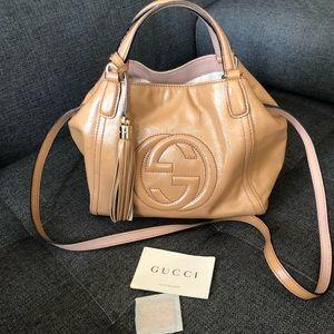 Authentic Gucci Soho shoulder crossbody bag